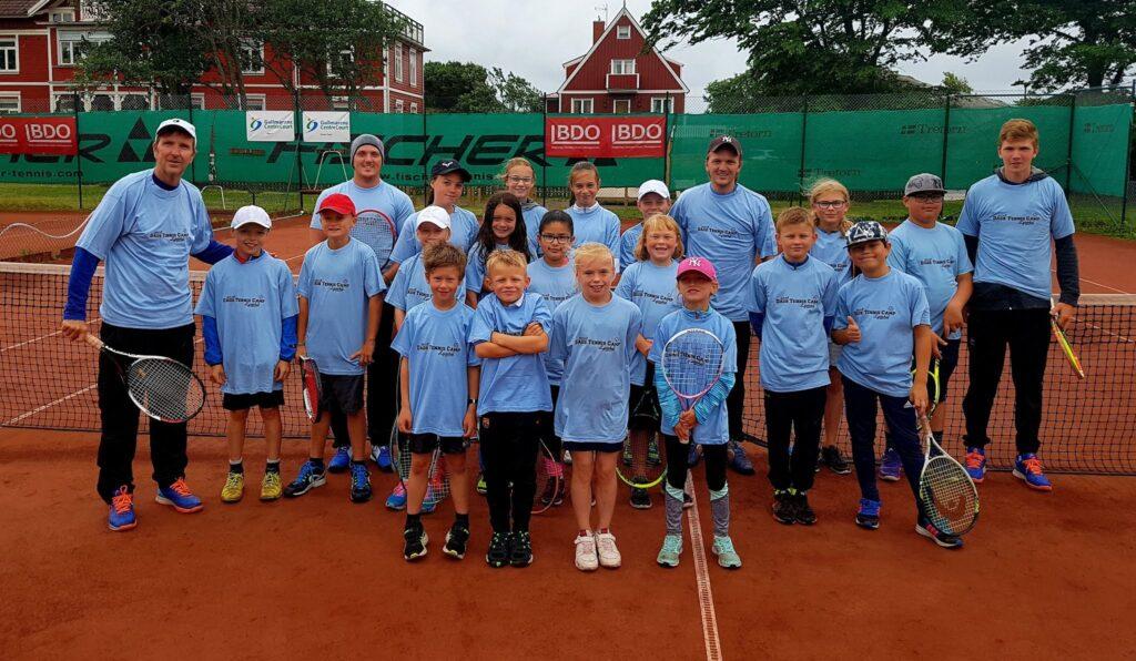 Dags tenniscamp 2018