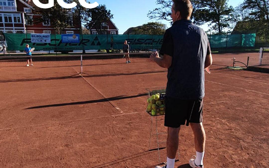 Höstens tennisträning är igång!