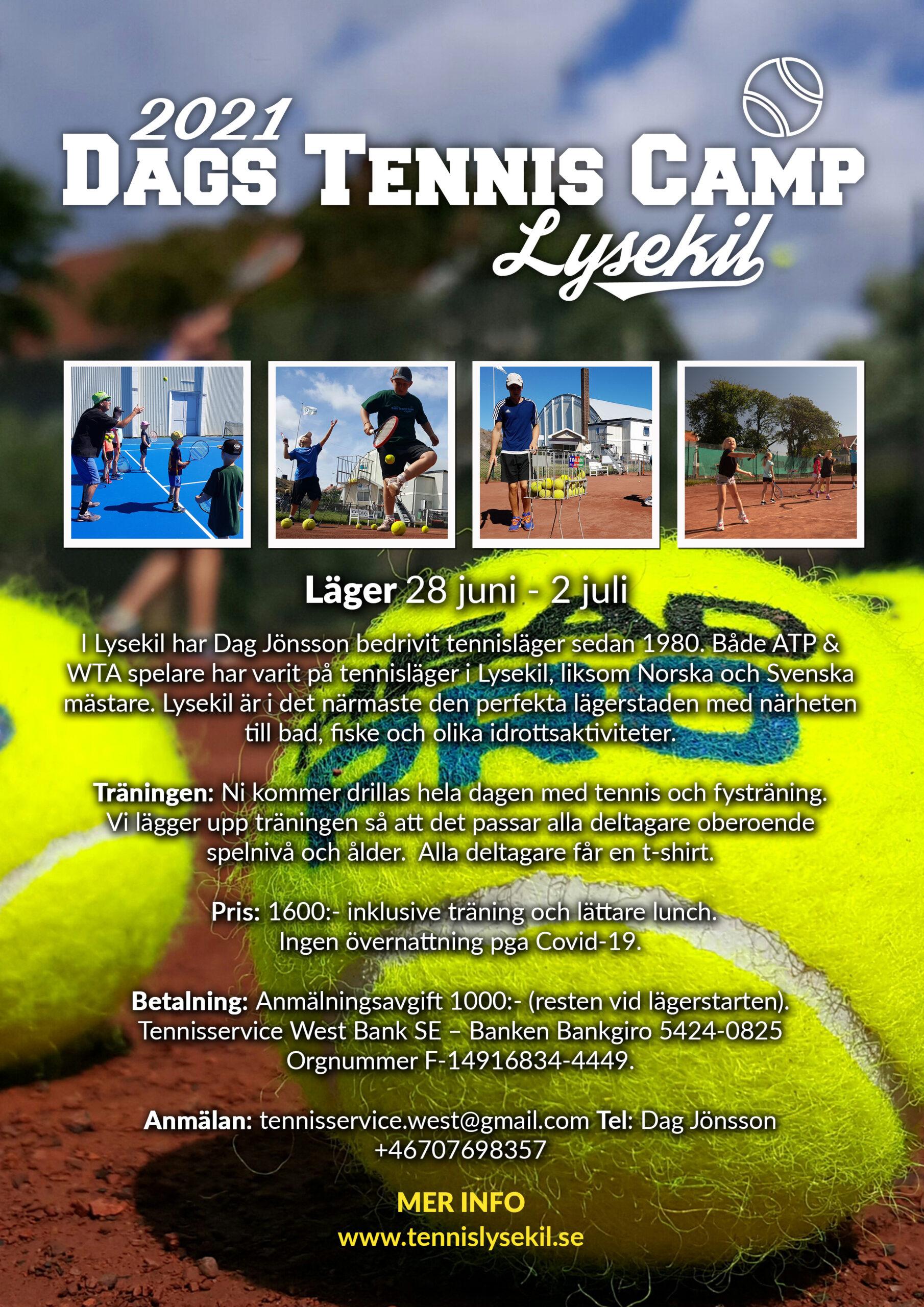tennisläger 2021 lysekil