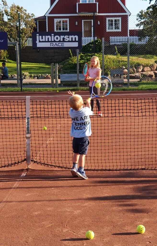 tennisträning
